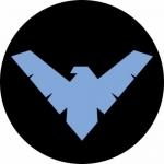 Наклейка Nightwing 2 (Найтвинг)