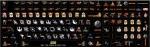 Наклейки на клавиатру Звёздные войны