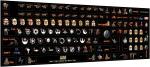Наклейки на клавиатру Звёздные войны только английская раскладка