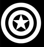Лого Капитан Америка / Captain America