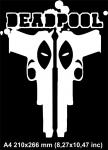 Два пистолета Дедпул /   Deadpool