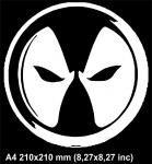 Логотип Дедпул / Logo Deadpool