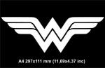 Чудо женщина логотип / Wonder Woman