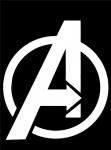 Логотип Мстители / Logo Avengers