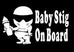 Ребёнок Стиг в машине / Baby Stig on board
