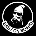 Ребёнок в машине / Baby on board glasses