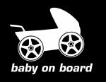 Ребёнок в машине / Baby on board baby carriage
