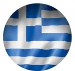 Наклейка Флаг Греция