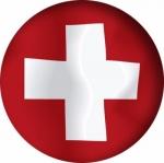 Наклейка Флаг Швейцария