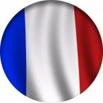 Наклейка Флаг Франции