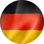 Наклейка Флаг Германия