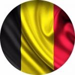 Наклейка Флаг Бельгия