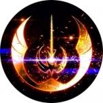 Наклейка Логотип Jedi order / Джедаи