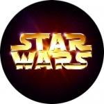 Наклейка Логотип Star wars / Звёздные войны