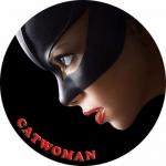 Наклейка Логотип Catwoman / Женщина кошка