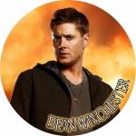 Наклейка сверхъестественное Дин Винчестер / Dean Winchester
