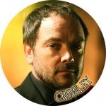 Наклейка сверхъестественное Кроули / Crowley