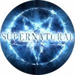 Наклейка сверхъестественное  / Supernatural Blue