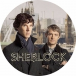 Наклейка Шерлок / Sherlock