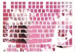 Наклейки на клавиатуру Мишки только английская раскладка