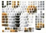 Наклейки на клавиатуру Ромашки только английская раскладка