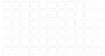 Наклейки на клавиатуру 14x14 мм. прозрачные без букв